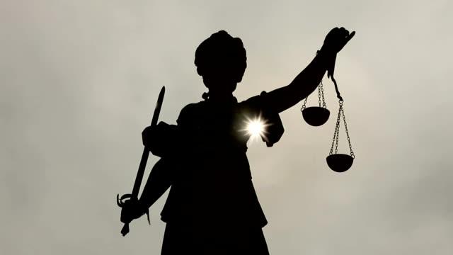 Justitia in Frankfurt am Main, Zeitraffer – Video