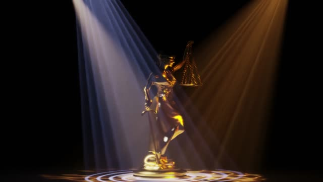 Lady Justice in spolight