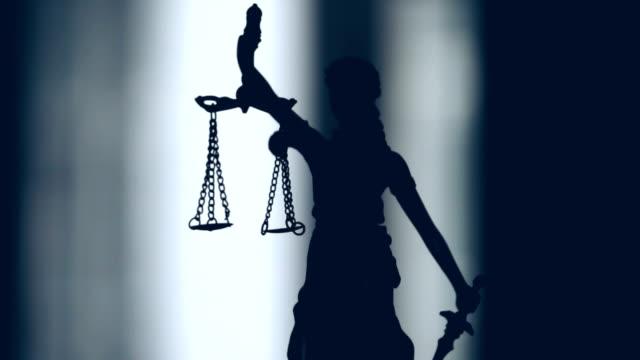 lady justice staty - domstol bildbanksvideor och videomaterial från bakom kulisserna