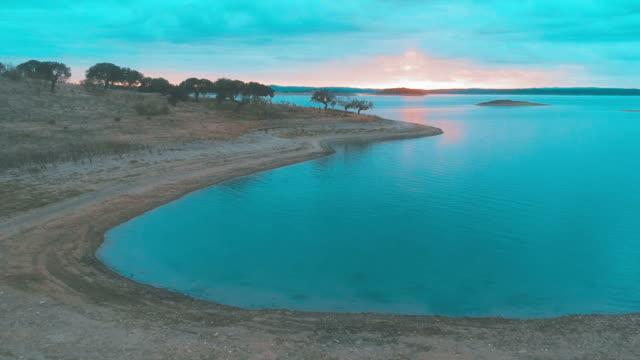 Lagoon at Sunset video