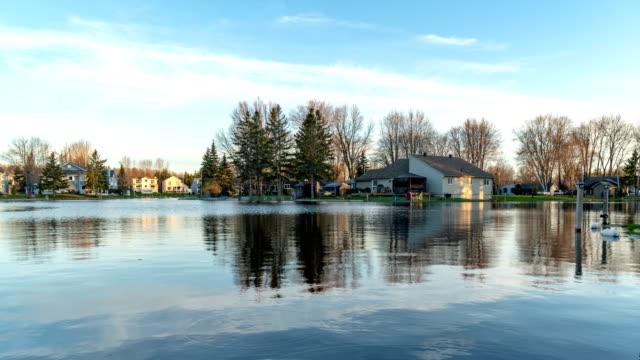 Lagoon City of Lake Simcoe, Ontario,Canada