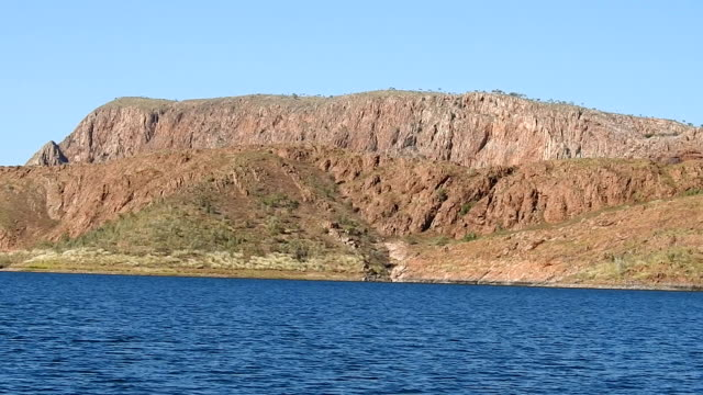 Lake Argyle, Western Australia. video
