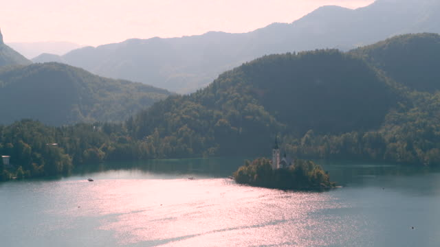 Lake Bled and the Church island, Slovenia