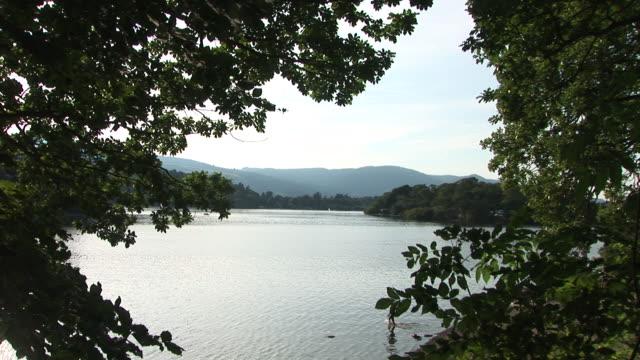 Lake district Derwent water video