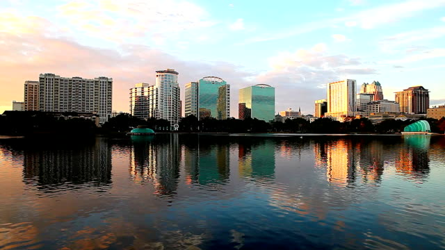 Lake Eola in Orlando Florida video