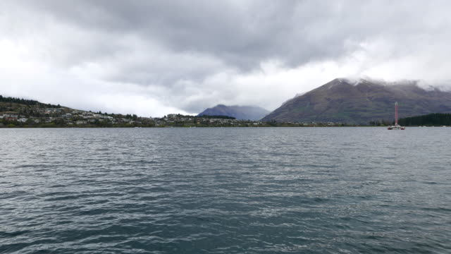 Lake in New Zealand South Island. video