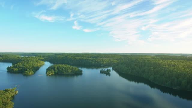 sjö i sverige antenn viadukt - swedish nature bildbanksvideor och videomaterial från bakom kulisserna