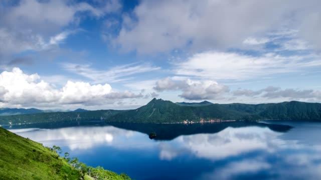 sjön mashu av blue(slow) - akan nationalpark bildbanksvideor och videomaterial från bakom kulisserna