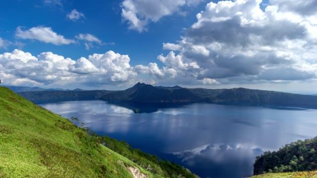 sjön mashu blå - akan nationalpark bildbanksvideor och videomaterial från bakom kulisserna