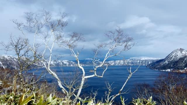 mashusjön,hokkaido, - akan nationalpark bildbanksvideor och videomaterial från bakom kulisserna