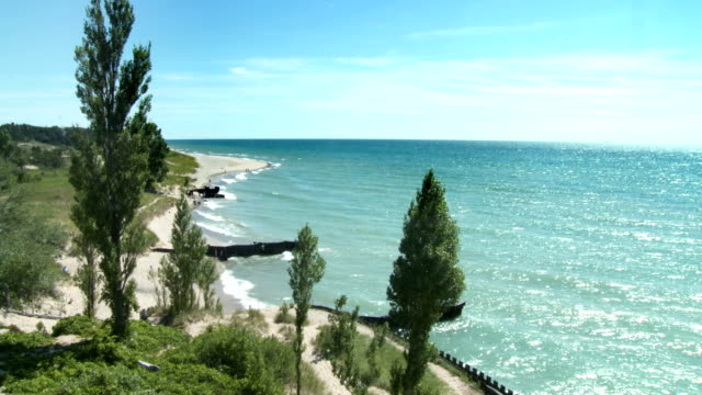 Lake Michigan Shoreline video