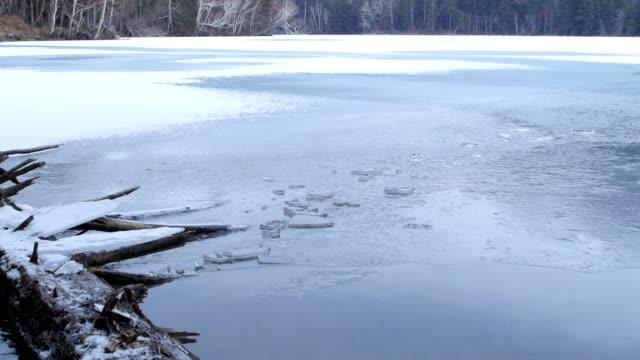 sjön onneto, akan nationalpark, hokkaido, japan. - akan nationalpark bildbanksvideor och videomaterial från bakom kulisserna