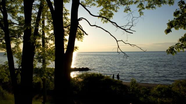 Lake Ontario Sunset Timelapse video