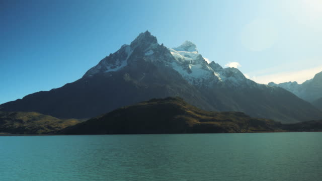 Lake Pehoe on Torres Del Paine by Boat, National Park in Patagonia, Chile 5 Lake Pehoe on Torres Del Paine by Boat, National Park in Patagonia, Chile 5 sorpresa stock videos & royalty-free footage