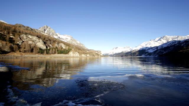 Lake Sils in Switzerland video