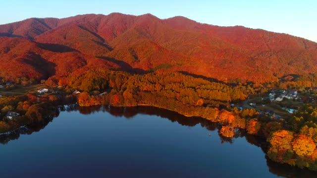 湖見月そはら - 秋点の映像素材/bロール