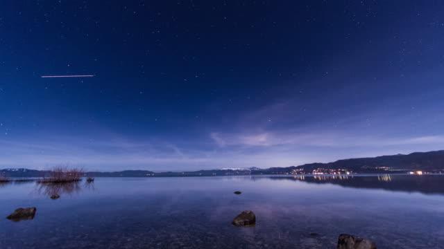 Lake Tahoe starry Night