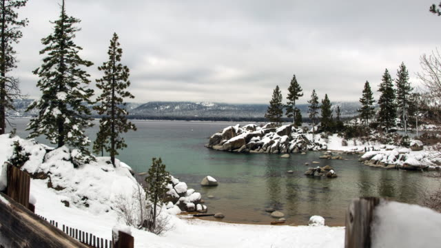 Lake Tahoe Winter Landscape