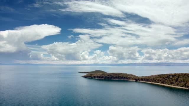 Lake Titicaca, Bolivia, Isla del Sol, (Island of the Sun) video