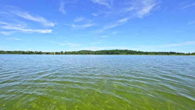"lake ""waginger see"", bavaria, in summer - lakes stock videos and b-roll footage"