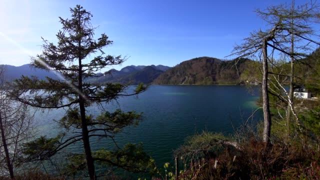 sjön wolfgangsee våren - turistbåt bildbanksvideor och videomaterial från bakom kulisserna