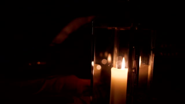 Lamp Candle Blown Out video