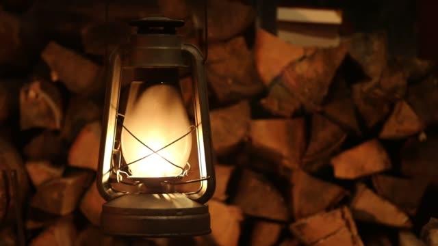 lamp kerosene lantern fire old lamp kerosene lantern fire old lantern stock videos & royalty-free footage