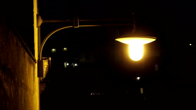 lamppost in the street video