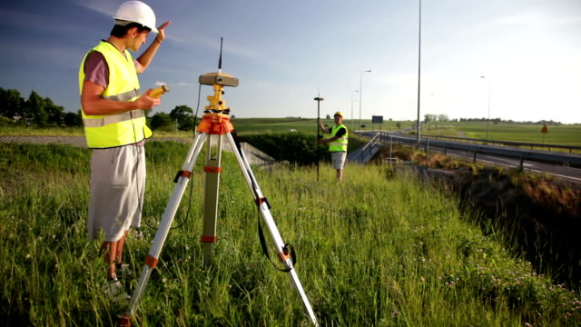 Land surveyors video