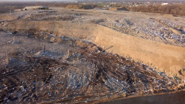 Landfill Aerial View  Mov - video
