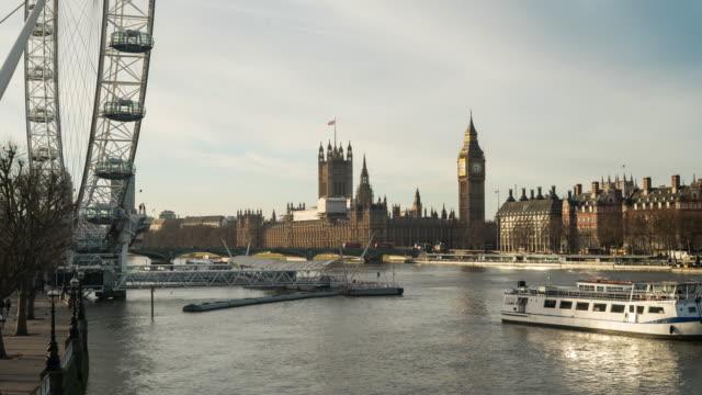 Landmarks of London, UK. video