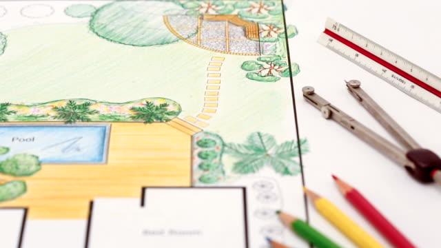 Landscape architect design backyard  for villa video
