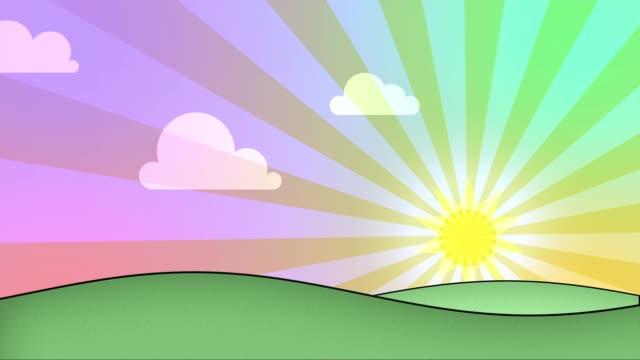 landskap i gryningen - spain solar bildbanksvideor och videomaterial från bakom kulisserna