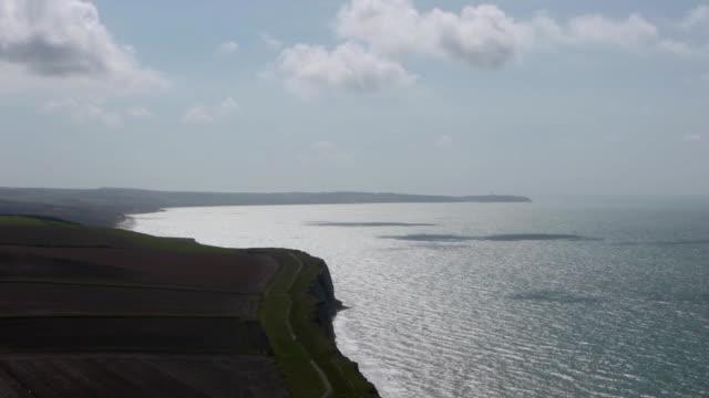 Landscape at the sea near Calais, France video