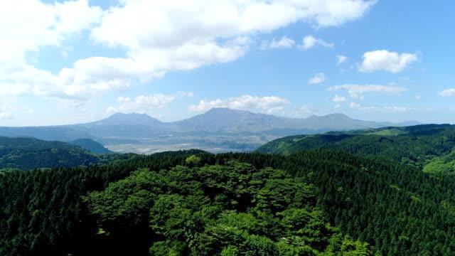 日本の阿蘇の風景 - 山点の映像素材/bロール