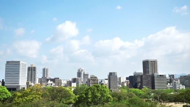 景觀的福岡市 - 非都市風光 個影片檔及 b 捲影像