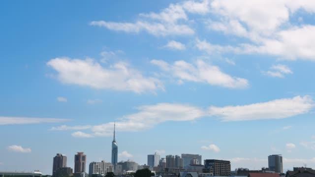 福岡市の風景 - sky点の映像素材/bロール