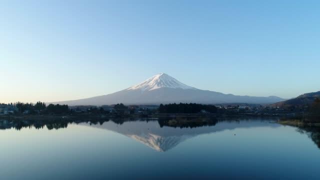 富士山の風景 - 広角撮影点の映像素材/bロール