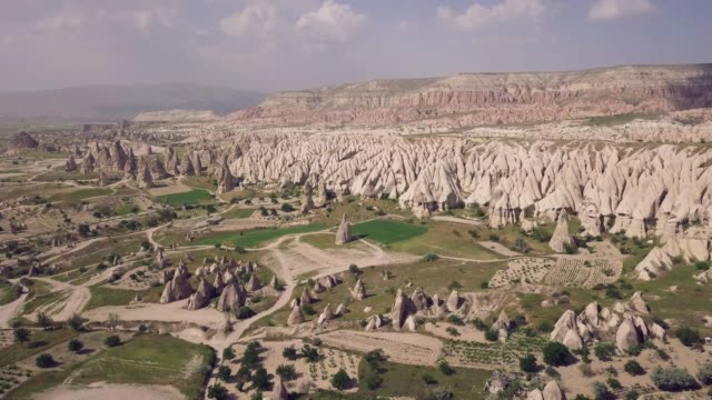 landskapet i nationalparken av kappadokien - anatolien bildbanksvideor och videomaterial från bakom kulisserna