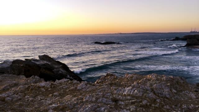 Landscape of Porto Covo beach video