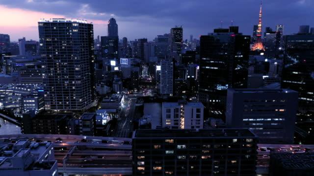 主に夜市の風景 - 東京点の映像素材/bロール
