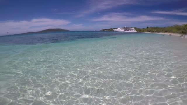 Landscape of The Blue Lagoon Fiji video