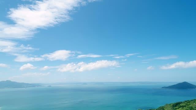 青い空と海の風景 - sky点の映像素材/bロール