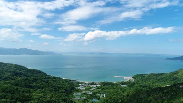 青い空と海の風景 - 絶景点の映像素材/bロール