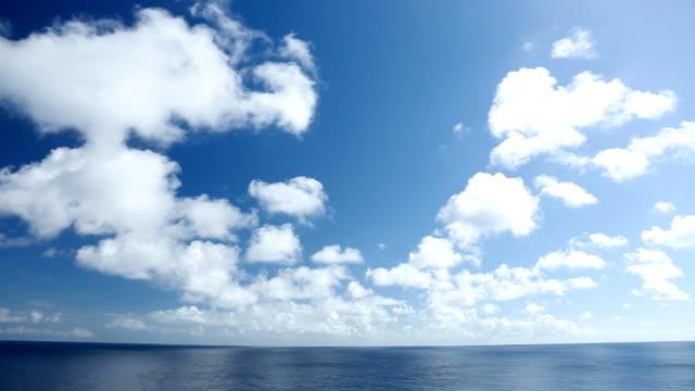 青い空と海の風景 ビデオ