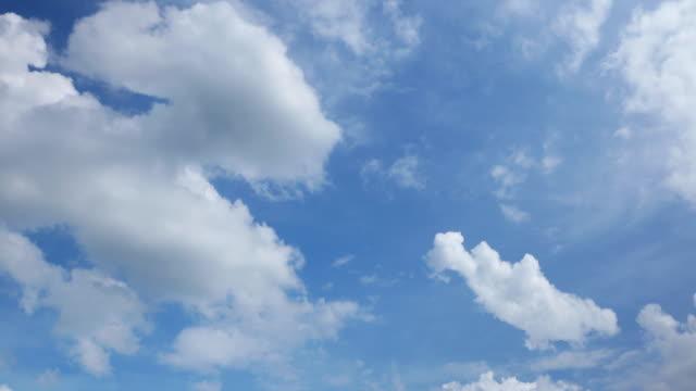 澄んだ空の風景、タイムラプス - 空点の映像素材/bロール