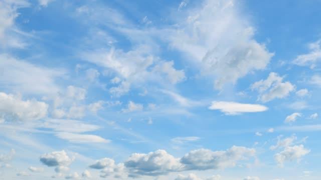 明確な空の風景 - 広角撮影点の映像素材/bロール