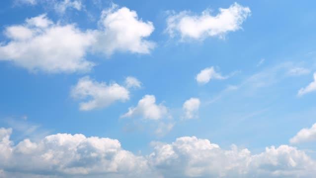明確な空の風景 ビデオ