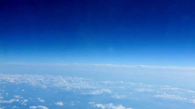 landschaft von den klaren himmel - stratosphäre stock-videos und b-roll-filmmaterial