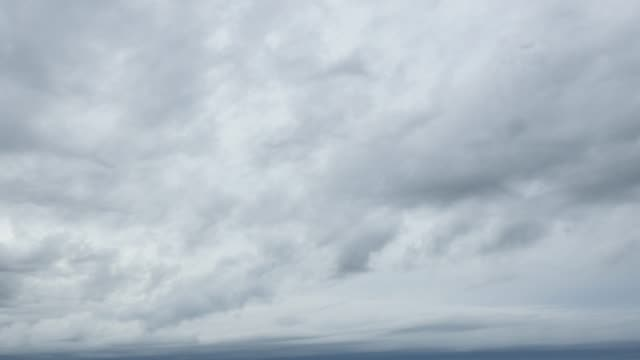 landscape of the cloudy sky - video